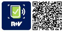 QR-Code für R+V-Scan