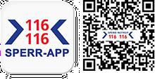 Download der Sperr-App für iOS