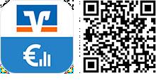 QR Code VR-Banking App für iOS-Tablets