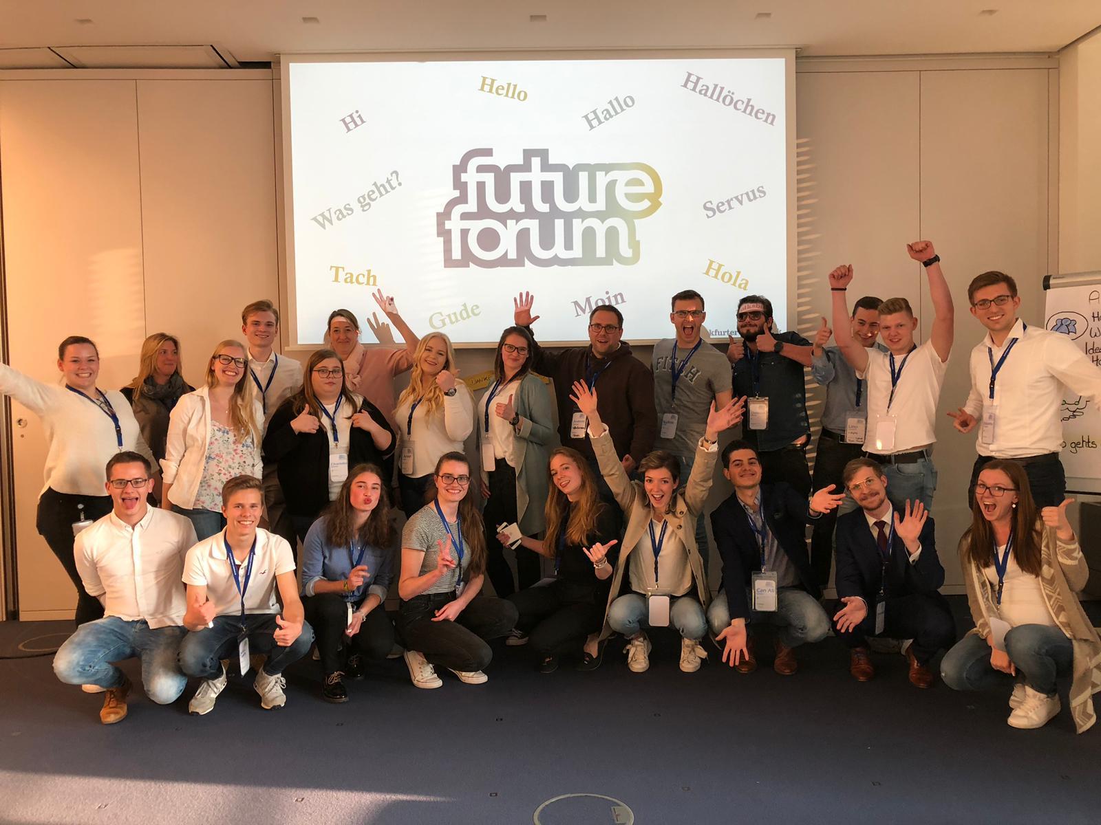 Am 23.05.2019 startet die Frankfurter Volksbank mit ihrem FutureForum.